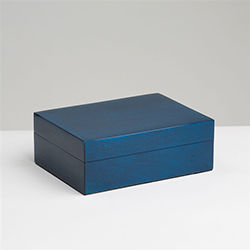 Lacquered Box Blue