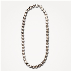 H Pod Bead Necklace