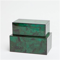 Brielle Emerald Luxury Jewelry Box
