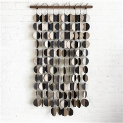 Wall Hanging Black and White Discs