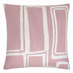 A2-Procession Pillow Dusty Pink/Cream