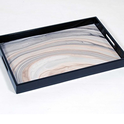 Lacquered Tucson Breakfast Tray