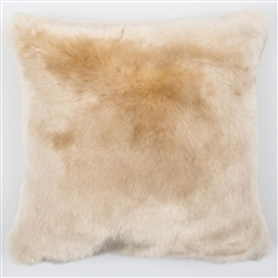 Faux Fur Pillow Cream
