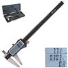 "8"" Digital Electronic Caliper 0.0005"" w/ Inch/Metric/Fractions"