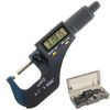 "0-1""/0.00005"" Digital Electronic Outside Micrometer w/ Large LCD"