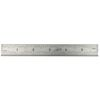 "6"" Stainless Steel Ruler 4R Rule Scale Machinist Engineer 1/18, 1/16, 1/32, 1/64"