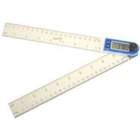 "11"" Electronic Digital Protractor Goniometer Angle Finder Miter Gauge"