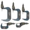 "iGaging 5 pc 0-1"", 1-2"", 2-3"", 3-4"", 4-5"" (0-5"") Digital Electronic Outside Micrometer w/Large LCD Display Inch/Metric"