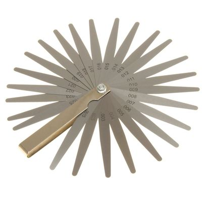 "Ultra Precision Feeler Gauge 26 Blades 0.0015""-0.025"""