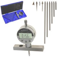 "Depth Gauge Digital Electronic Indicator  0-22"" Measuring Range, 0.0005"" Resolution, 2-Position Base (Inch/MM/Fractions)"