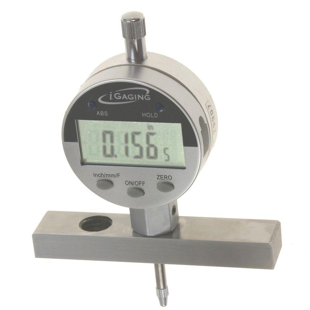 Electronic Digital Gauge : Depth gauge digital electronic indicator quot me