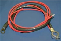 1964 - 1966 Nova V8 & 6 Cylinder A/C Positve Battery Cable