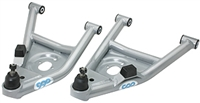"1968-74 Nova Totally Tubularâ""¢ Control Arms, lower, silver, pair"