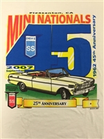 2007 California Mini Nats Tee