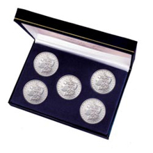 The Morgan Silver Dollar Mint Mark Collection