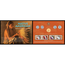 Native American West Coin & Stamp Collection