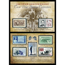 150th Anniversary Civil War Commermorative Stamp Collection