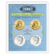 2012 Coins Never Released for Circulation