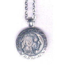 Buffalo Nickel Pendant
