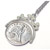 Civil War Silver Seated Liberty Coin Spinner Pendant