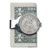 Civil War Silver Seated Liberty Coin Money Clip