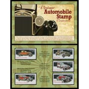 Vintage Automobile Stamp Collection