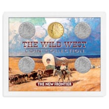 New Frontier Set: Wild West Coin Collection