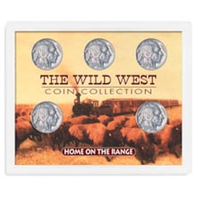 Home On the Range Set: Wild West Coin Collection