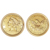 $5 Liberty Gold Piece Half Eagle Coin Cuff links