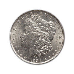 1894O Morgan Silver Dollar in Fine Condition (F15) Graded by AACGS