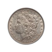 1899S Morgan Silver Dollar in Fine Condition (F15) Graded by AACGS