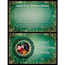The Legend of the Christmas Stocking JFK Half Dollar Colorized Coin