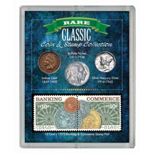 Rare Classic Coin & Stamp Collection