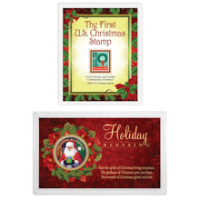 Christmas Stamp and Coin Bundle