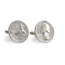 Washington Quarter Cuff Links