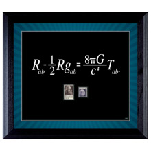 Theory Wall Frame with Stamps