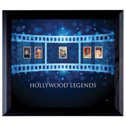 Hollywood Legends Wall Frame with Stamps