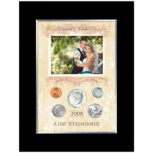 A Day To Remember Personalized 5 Coin Photo Frame