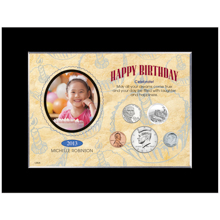 Happy Birthday Year To Remember Personalized Photo Frame