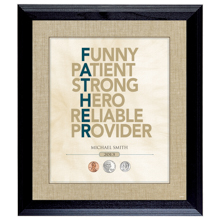 Personalized Father Frame