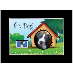 Top Dog Photo Frame