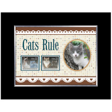 Cats Rule Photo Frame