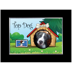 Top Dog Personalized Photo Frame