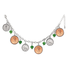 Irish Coin Bracelet
