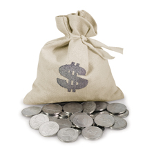 Bankers Bag of Westward Journey Nickels