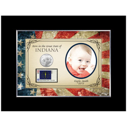 Born In The Great State Personalized Photo Frame