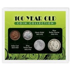 100-Year Old Coin Collection