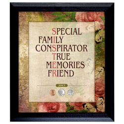 Sister Year To Remember Coin Frame
