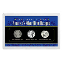 Last Year of Issue America's Silver Dimes