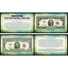 U.S. Red Seal Note Currency Collection